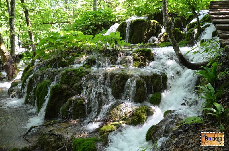 Cascade si lacuri din zona lacurilor superioare - Parcul National Lacurile Plitvice