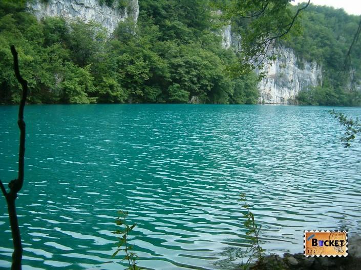 Lacurile de jos din Parcul National Plitvice - Lacul Milanovac
