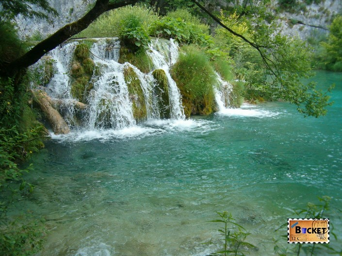Lacurile de jos din Parcul National Plitvice - Velike Kaskada