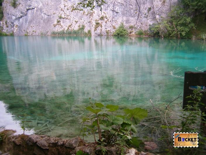 Lacurile de jos din Parcul National Plitvice - lacul Gavabovac