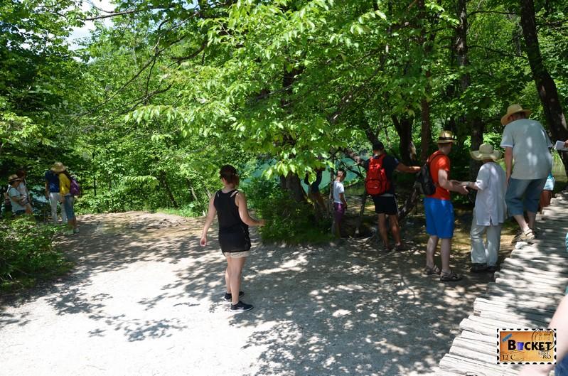 Lacurile superioare din Parcul National Lacurile Plitvice
