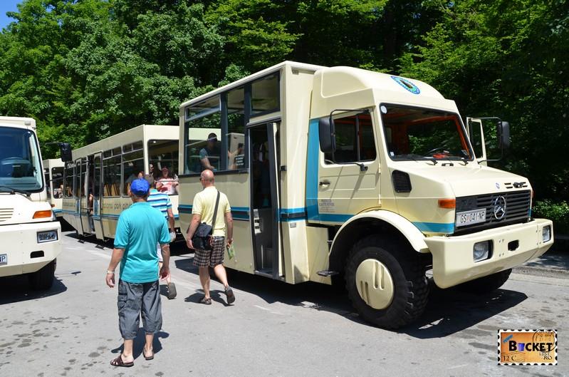Mercedes Unimog din parcul Plitvice
