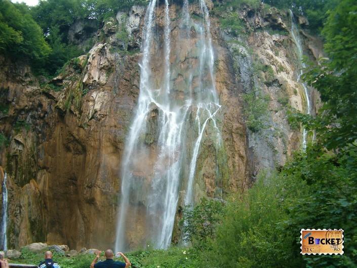 Veliki Slap din Parcul National Plitvice