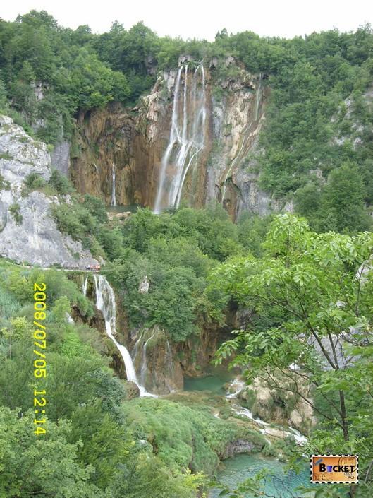 Veliki Slap din Parcul Plitvice