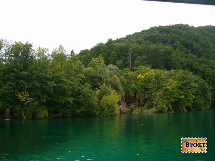 lacul Kozjak din Parcul National Lacurile Plitvice