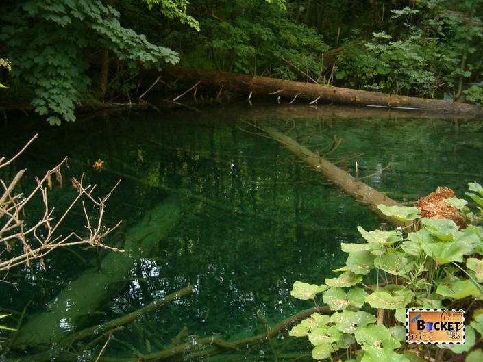 langa debarcaderul P2 de pe lacul Kozjak