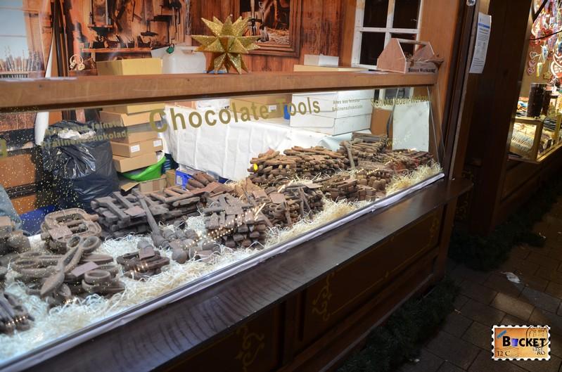 Ciocolata la Targul de Craciun