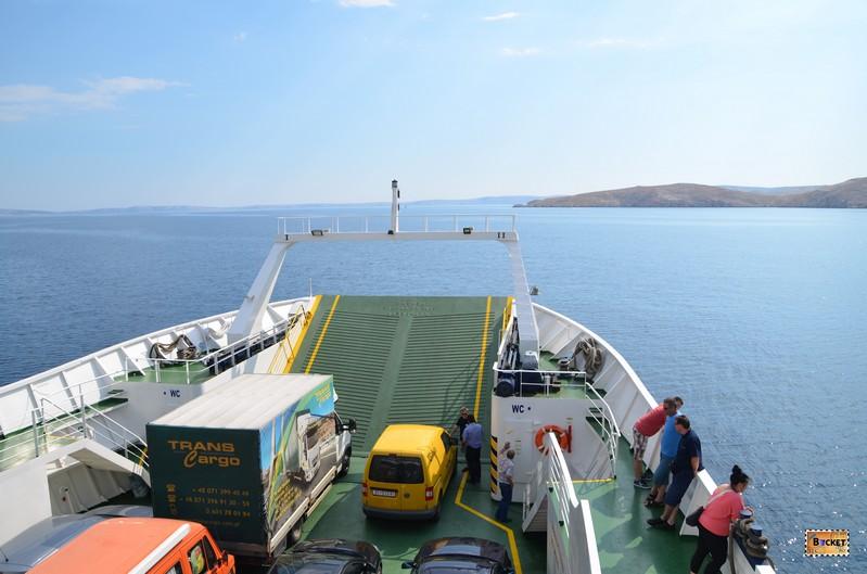 Feribot spre insula Rab linia 337 Misnjak - Stinica
