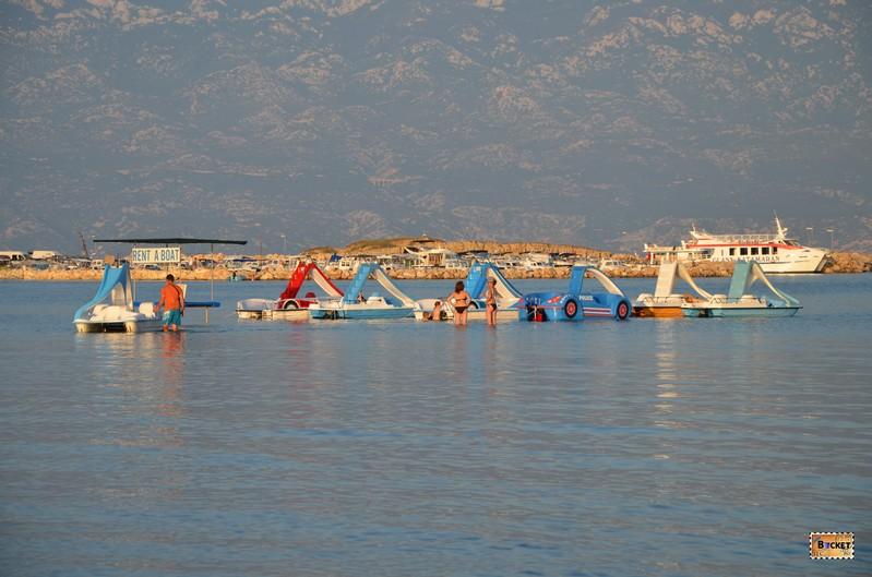 Plaja pentru bebelus in Lopar - Insula Rab Croatia