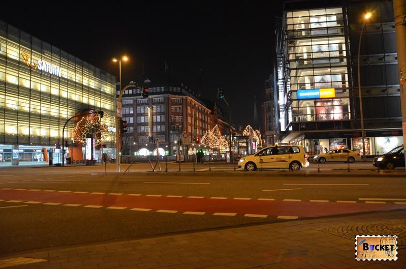 Targul de Craciun din Hamburg