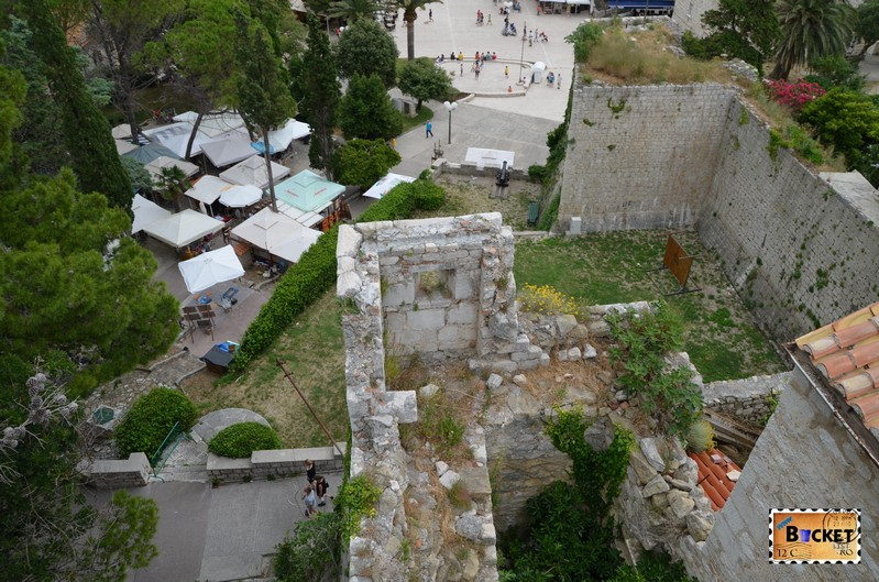 Bird's eye view ruine oras vechi