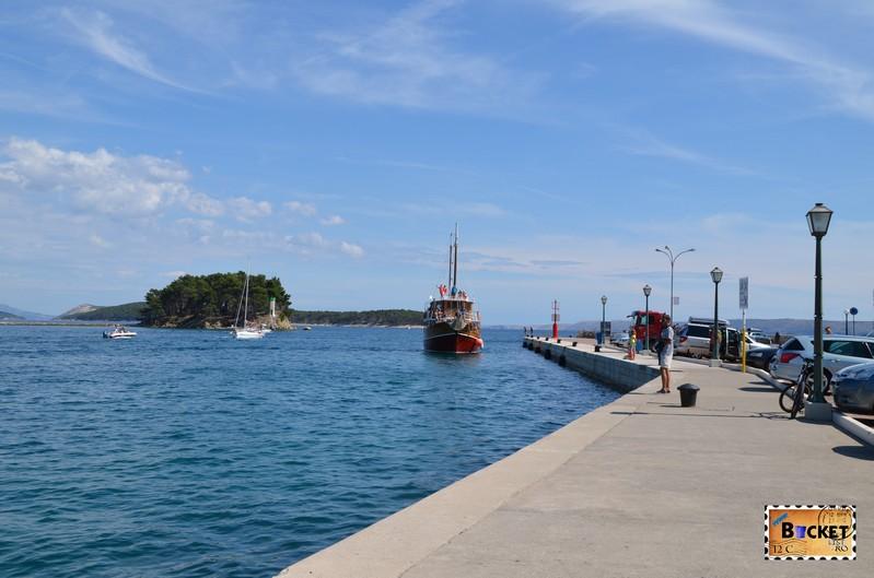 Portul din orasul vechi Rab