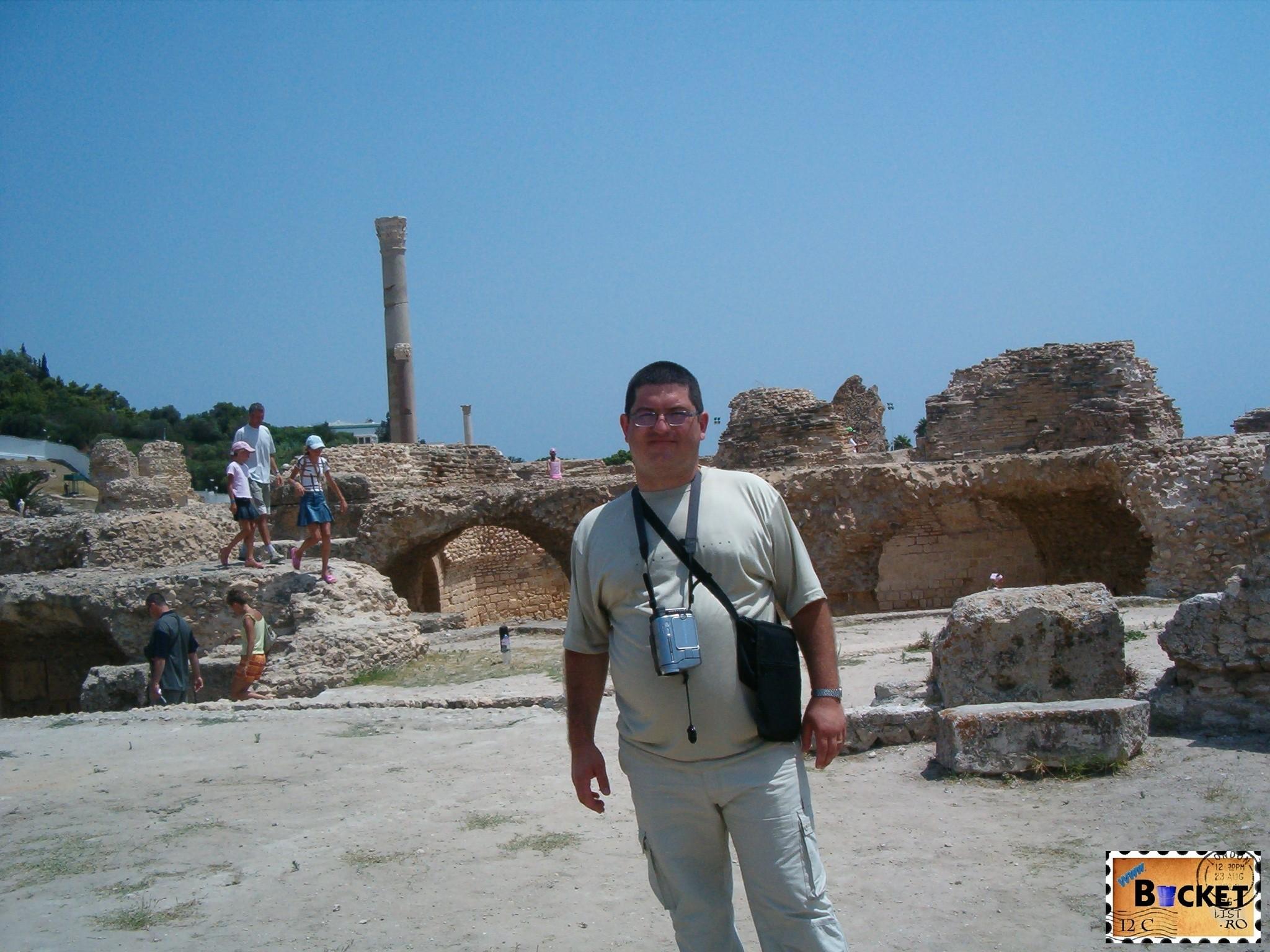 Băile Antonine din Cartagina
